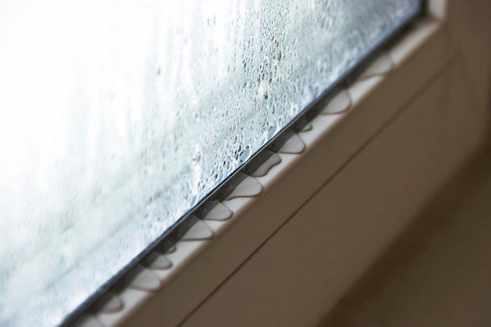 condensatievocht bij raam